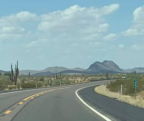 Searching for Our Home for Retirement took us for this drive along Arizona's Carefree Highway.