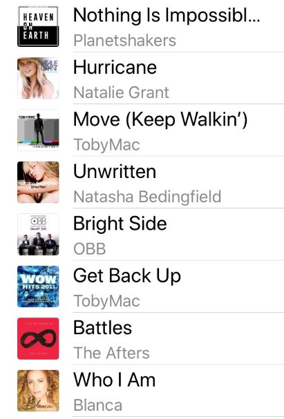 """The Benefits of my Positive Playlist - """"Forward."""""""
