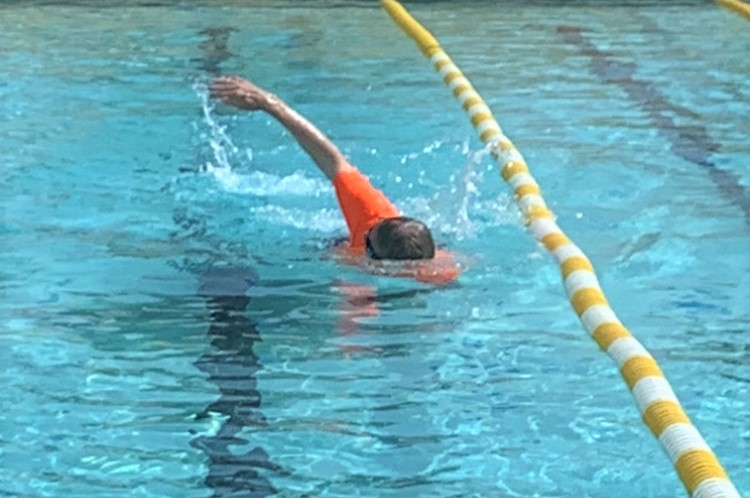 Making a splash with the freestyle stroke