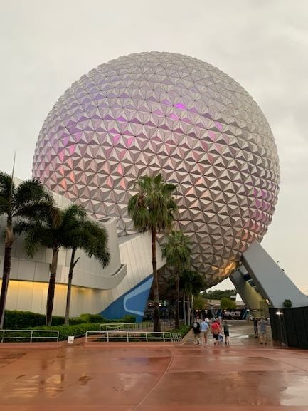 Epcot at Evening
