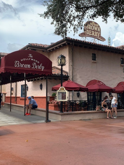 Disney Hollywood Studio Brown Derby Restaurant