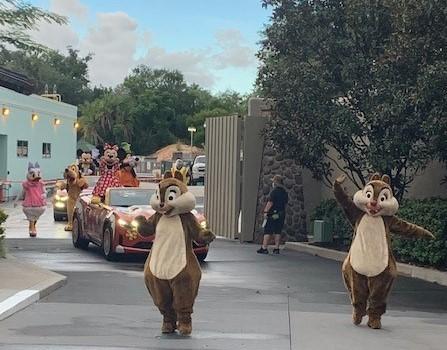 Pop up Parade at Disney Hollywood Studios